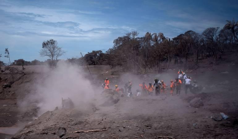 Volcán de fuego: Sube a 109 cifra de muertos por erupción del Volcán de Fuego en Guatemala
