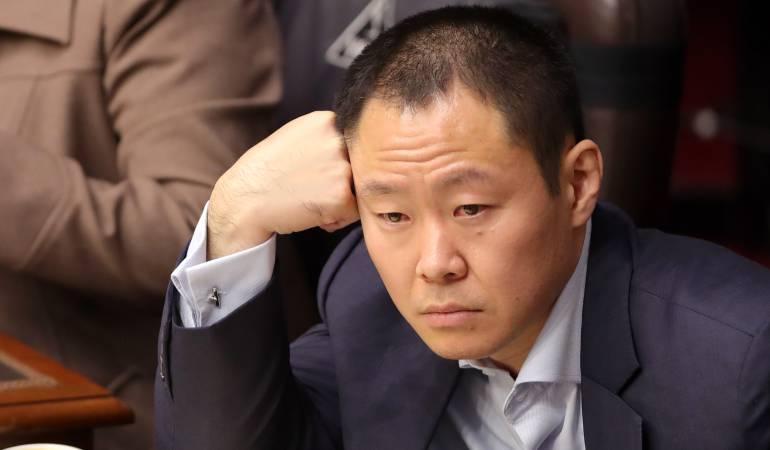 Suspenden a Kenji Fujimori: Congreso del Perú suspende al senador Kenji Fujimori