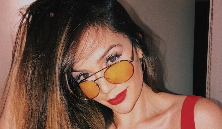 Lina Tejeiro mostró más de la cuenta