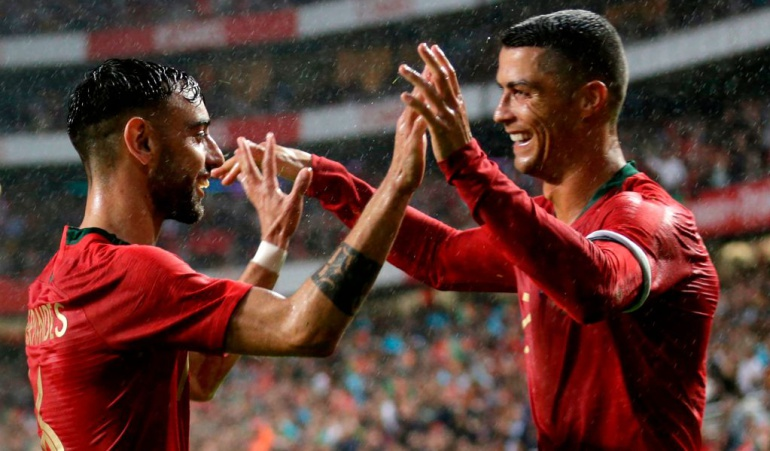 Cristiano Ronaldo 150 Portugal Argelia: Cristiano Ronaldo completó 150 partidos con Portugal en goleada a Argelia