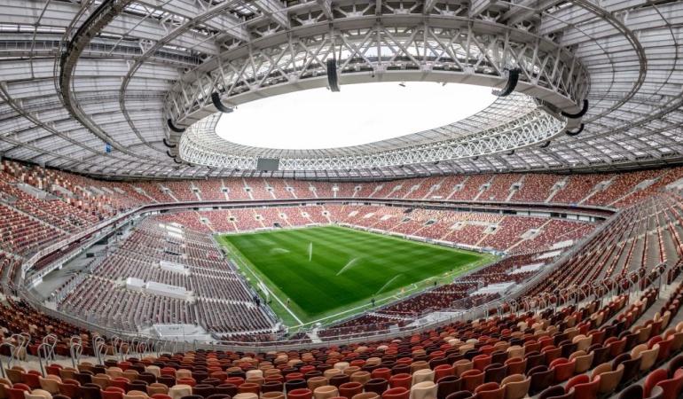 Mundial Rusia Luzhnikí: Caracol Radio ya está en Luzhnikí, estadio donde dará inicio el Mundial