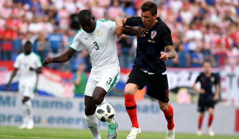 Mundial 2018: Senegal perdió ante Croacia previo al Mundial de Rusia