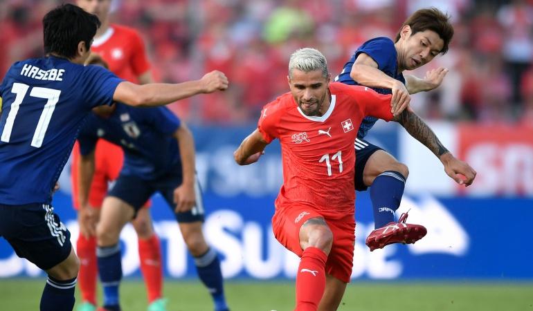 Mundial 2018: Japón perdió ante Suiza y no levanta cabeza previo al Campeonato del Mundo