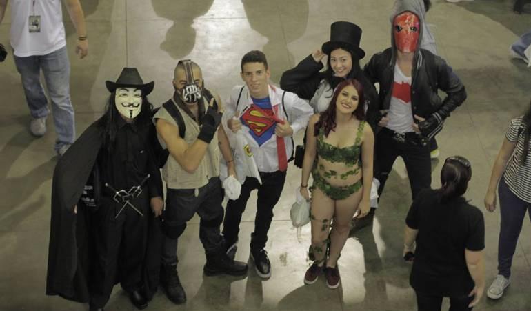 Imagen de archivo de Comic Con Medellín en 2017.