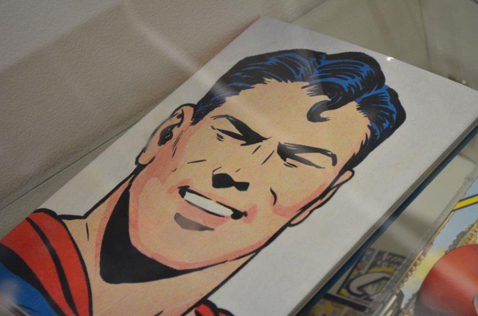 Retrato de Superman