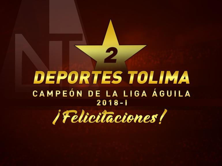 En Vivo Nacional Vs Tolima Final Liga Águila: Deportes Tolima es el campeón de la Liga Águila 2018-I
