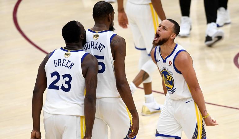 Golden State Campeón NBA: Los Golden State aplastan a los Cavaliers y se coronan campeones de la NBA