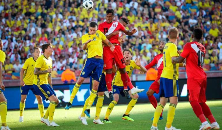 Suecia 0-0 Perú Mundial Rusia 2018: Suecia y Perú empatan sin goles antes de viajar a Rusia
