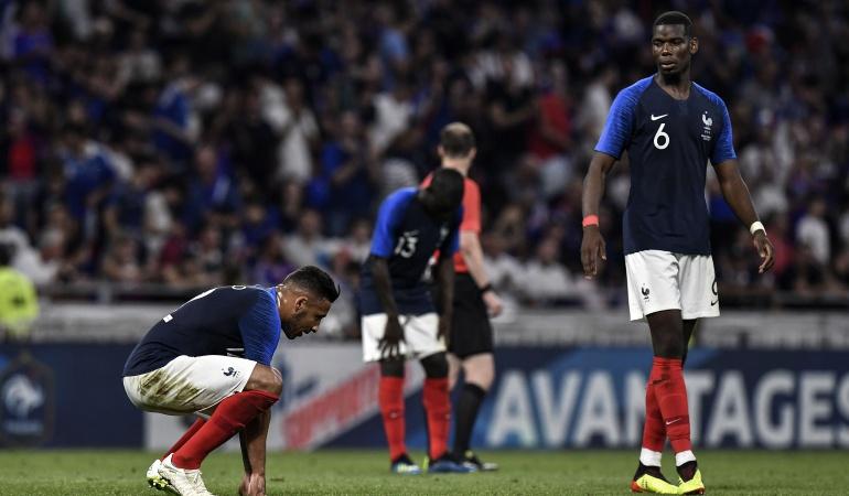 Mundial de Rusia Francia Estados Unidos: Francia decepcionó de local e igualó 1-1 ante Estados Unidos
