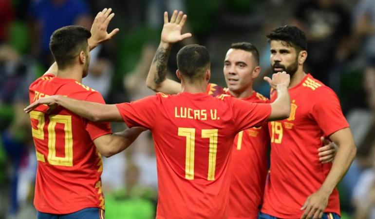 Iago Aspas España 1-0 Túnez: Iago Aspas salva la victoria de España en un juego con dudas ante Túnez