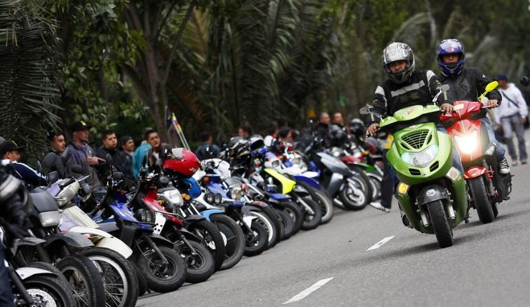 Muertes de motociclistas en Colombia: Entre enero y mayo fallecieron 1.233 motociclistas en el país