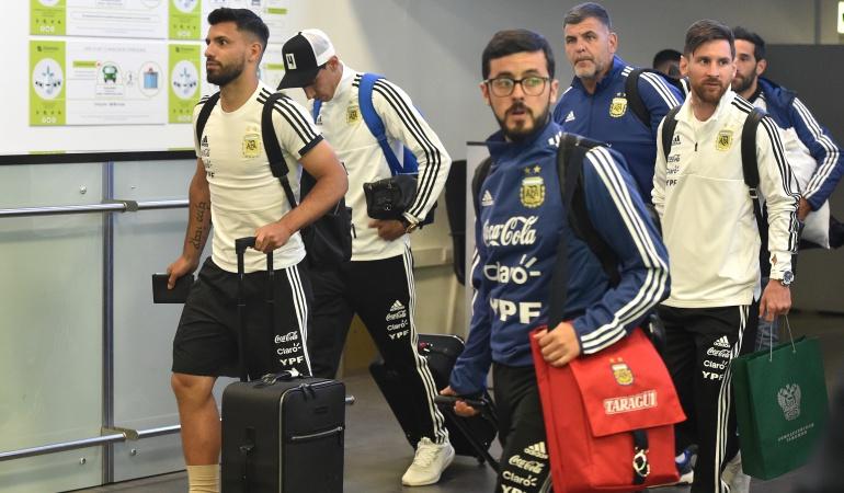 Selección Argentina Mundial Rusia 2018: La Selección Argentina llegó a Rusia en busca de su tercera Copa del Mundo