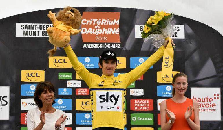Critérium del Dauphiné Geraint Thomas: El británico Geraint Thomas gana el Critérium del Dauphiné
