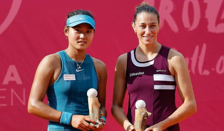 Marian Duque campeona WTA Bol Croacia: Mariana Duque, campeona en dobles del WTA de Bol, Croacia