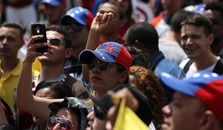 Proceso positivo con gran afluencia: Gobierno sobre censo de venezolanos