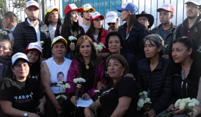 Elecciones presidenciales: Madres de Soacha expresan su apoyo a Gustavo Petro