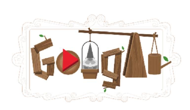 Doodle de Google en homenaje al día del gnomo