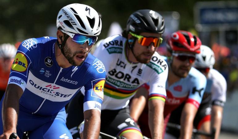 Fernando Gaviria segundo Vuelta a Suiza: Gaviria volvió a ser segundo en la tercera etapa de la Vuelta a Suiza