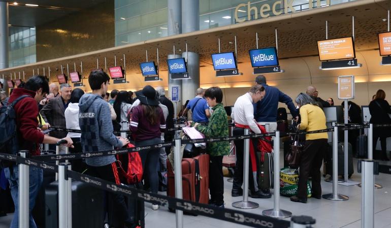 Hurtos en aeropuertos: 40 hurtos en aeropuertos se registran en promedio al mes
