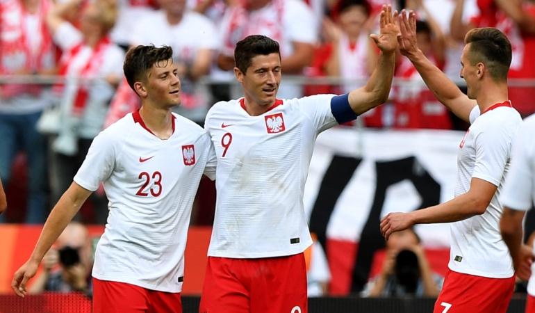Mundial de Rusia 2018 Selección Polonia Lituania: Polonia, rival de Colombia, goleó 4-0 a Lituania