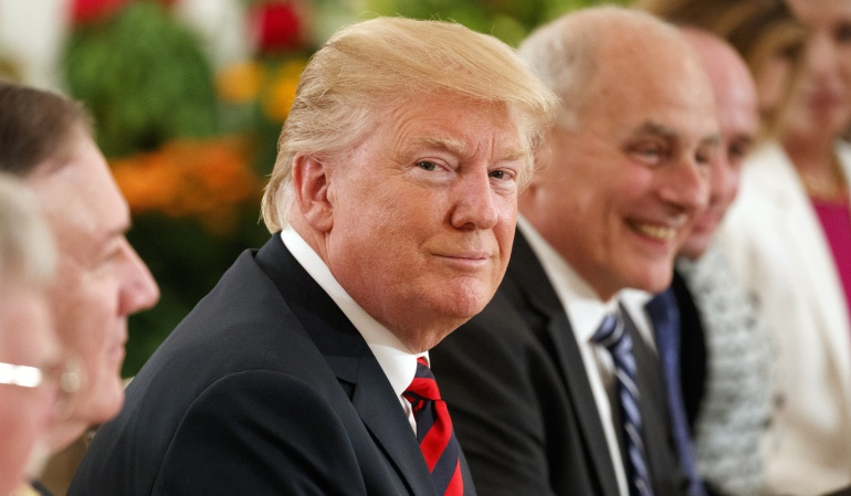 """Donald Trump Kim Jong un Corea del Norte Singapur: Trump dice que tendrá """"una relación estupenda"""" con Kim"""