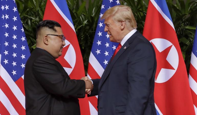 Donald Trump Kim Jong un Corea del Norte Singapur: EE.UU. y Corea del Norte hacia una nueva era