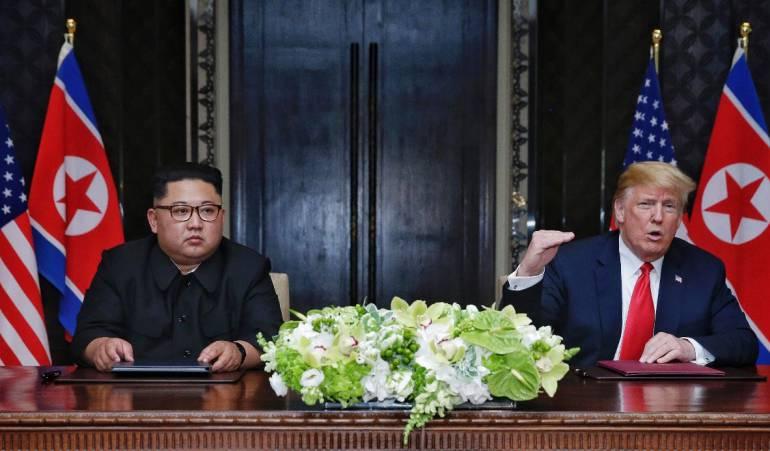 EE.UU y Corea del Norte acuerdan desnuclearizar la península coreana