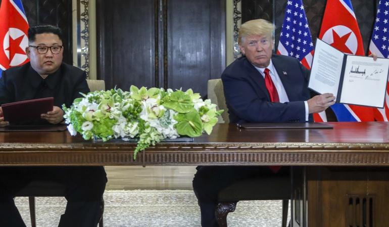 Cambios para Corea: Kim Jong Un: Cumbre de Singapur comenzó un camino significativo