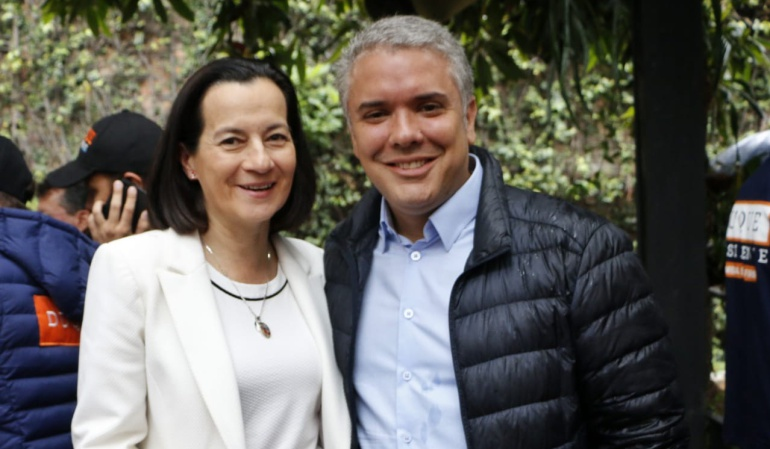 Elecciones presidenciales 2018: Clara Rojas adhiere a la campaña de Iván Duque