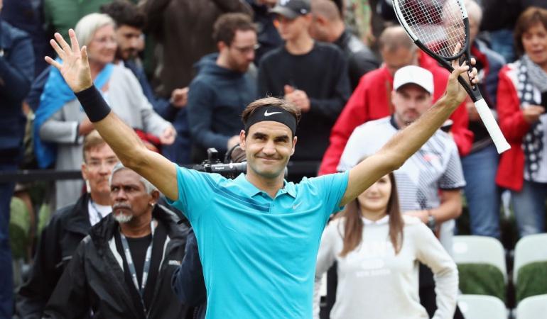 Roger Federer ATP Stuttgart: Federer volvió con victoria al circuito ATP, luego de dos meses de ausencia