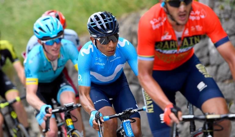 Nairo Vuelta a Suiza: Nairo Quintana ascendió al sexto puesto en la general de la Vuelta a Suiza
