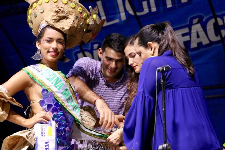 Reinas en las Fiestas del Río