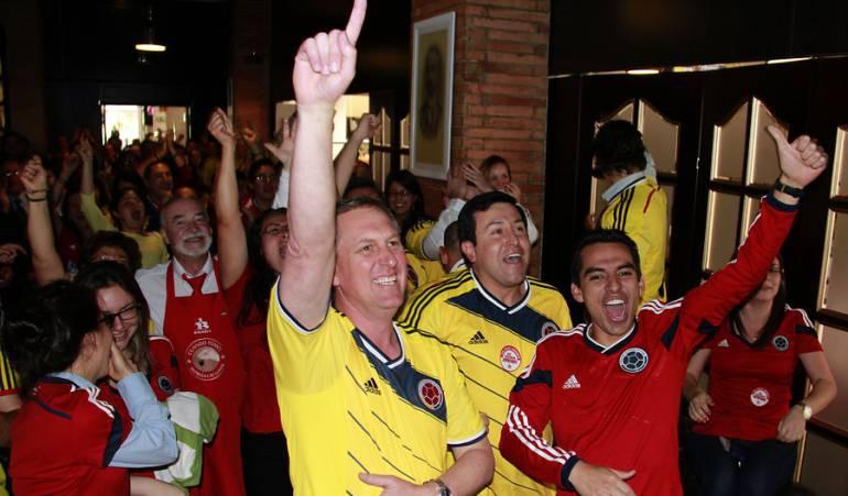 Hinchas de la Selección Colombia / Colprensa