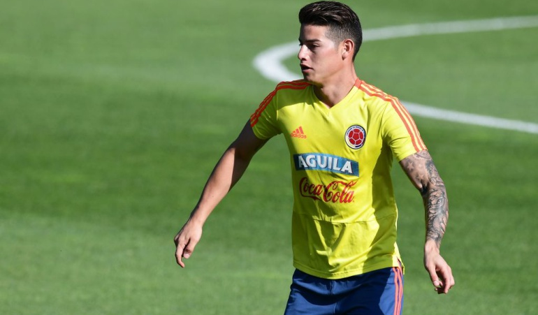 James Barrios ausentes práctica Selección Colombia: James y Wilmar Barrios, ausentes en la práctica de la Selección en Kazán