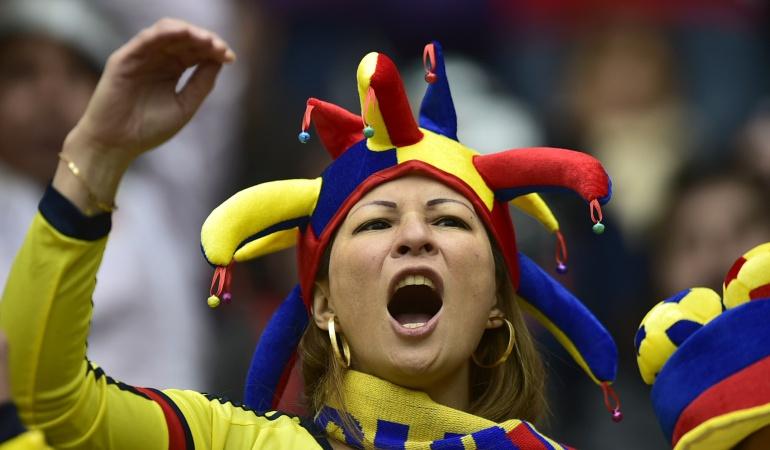 Hinchas de Colombia Mundial Rusia 2018 Selección Colombia: Sentimiento tricolor: así alientan los hinchas a Colombia en Kazán