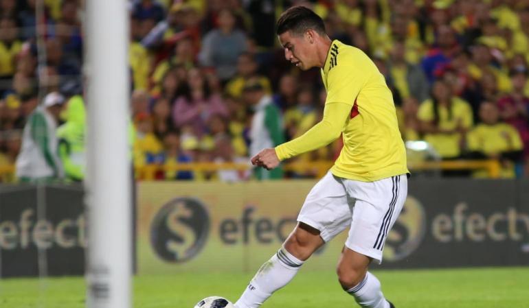 James duda Japón: James, en duda para partido ante Japón el próximo martes