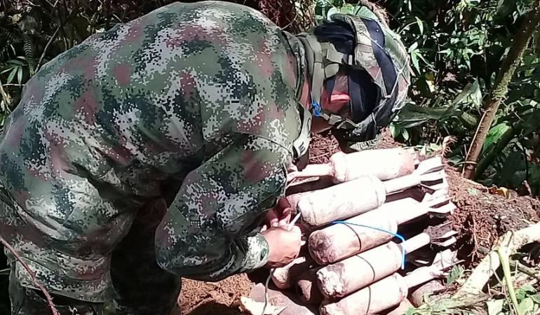 desactivación de artefactos: Autoridades desactivan artefactos explosivos en La Libertad