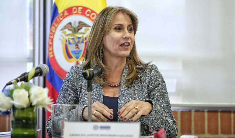 Griselda Janeth Restrepo, ministra de trabajo.