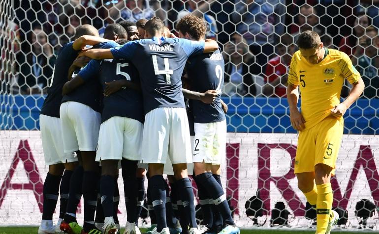 Francia 2-1 Australia Mundial de Rusia 2018: Francia sufre ante Australia pero vence en su debut