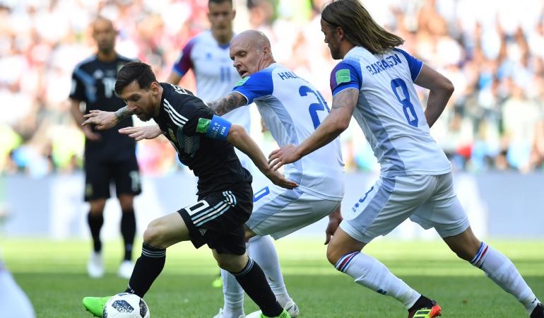 Argentina Islandia Mundial de Rusia 2018 Messi: Argentina decepcionó en su debut y empató 1-1 ante Islandia