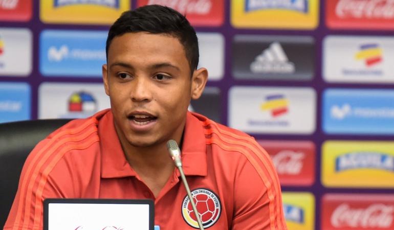 """Luis Fernando Muriel Selección Colombia Mundial de Rusia: Luis Muriel: """"Podemos hacer un mejor Mundial que el hecho en Brasil 2014"""""""
