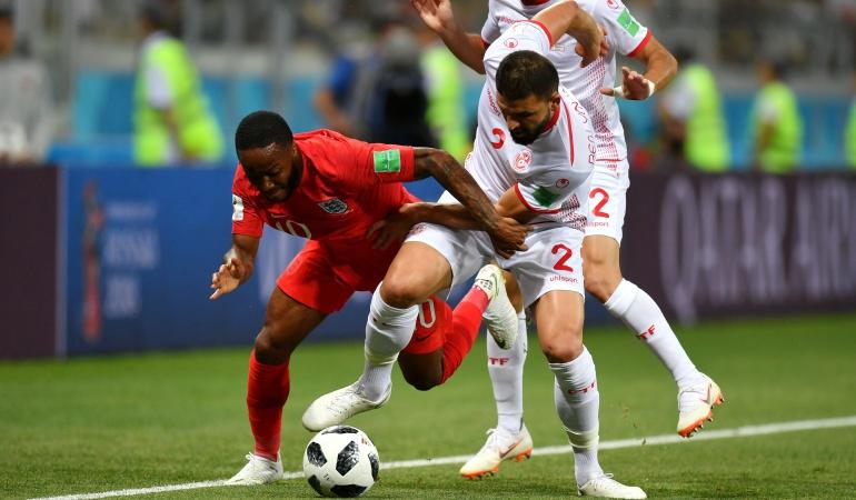 Túnez 1-2 Inglaterra online en vivo Mundial 2018: Con gol sobre el final de Harry Kane, Inglaterra venció 2-1 a Túnez