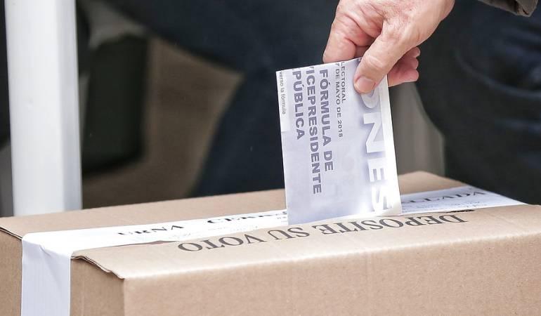 Elecciones Presidenciales Colombia 2018: Con normalidad avanzan las votaciones en el exterior