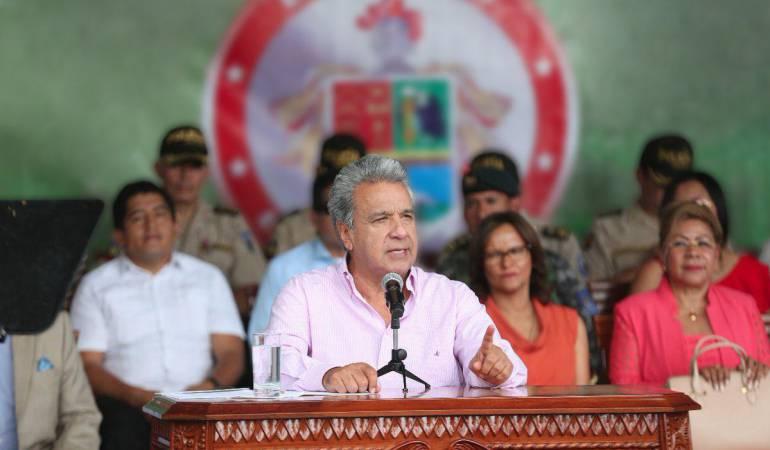 disidentes de las Farc: Gob. de Ecuador presenta plan de Defensa y Seguridad para frontera norte