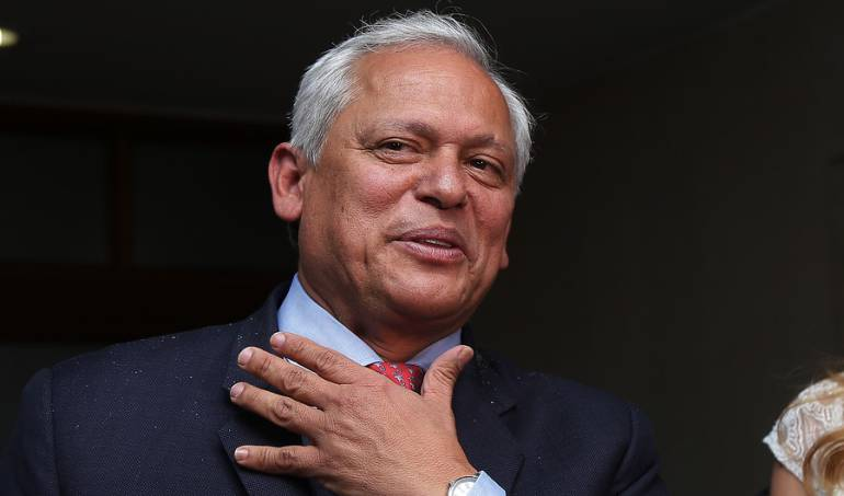 Presidente del partido Conservador Hernán Andrade
