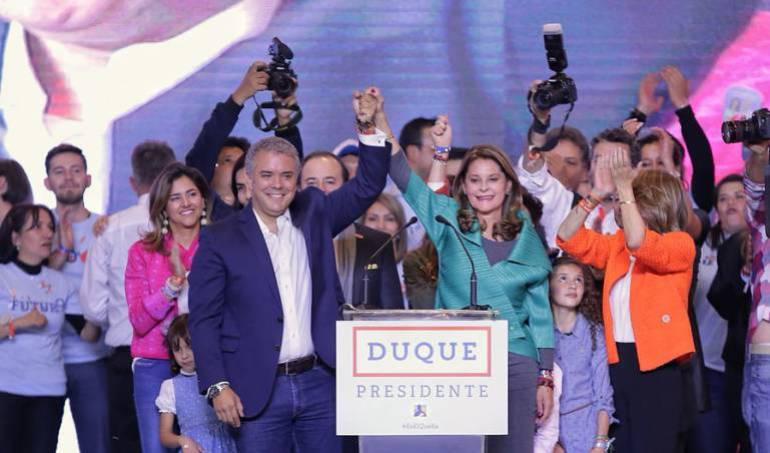 elecciones presidenciales 2018: EE.UU. felicita a Iván Duque y dice que Colombia es ejemplo de democracia