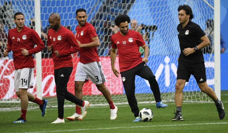 Rusia vs Egipto — En vivo