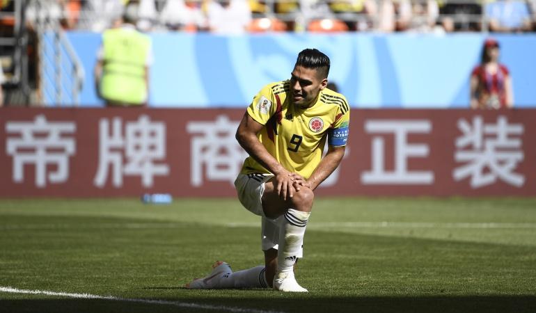 Mundial 2018: Falcao debutó en un Mundial y cumplió su sueño