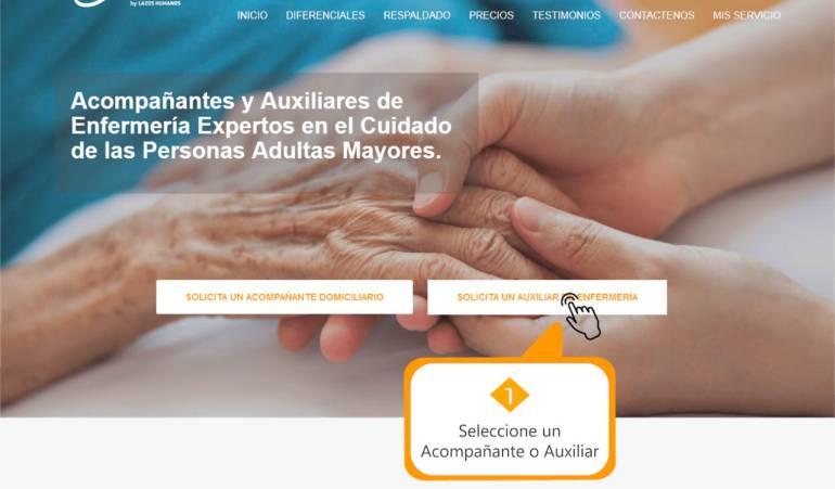 Adultos Mayores: Lazos Humanos: La plataforma online que provee servicios a adultos mayores
