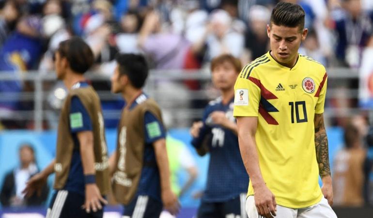 """James Rodríguez: James """"Los ganadores no se detienen frente los errores, levantan la cabeza"""""""